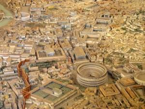 Roma antica -vedere panoramica