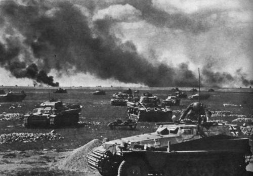 tancuri in lupta