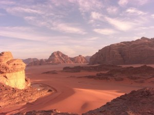 Wadi Rum ,desertul roz