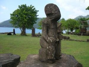 enigma statuilor de pe insula nuku hiva