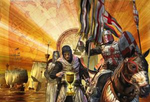 in cautarea sfantului graal -cavalerii templieri