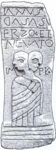 tablitele cerate de la Rosia Montana-zeul Ianus
