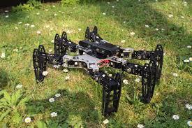 era robotilor -robotul paianjen