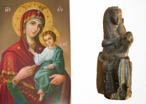 Ce a copiat crestinismul din practicile pagane-isis si horus