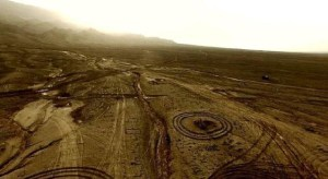 Structuri misterioase descoperite in desertul Gobi