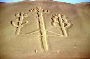 Candelabrul din Paracas, o geoglifa misterioasa (2)