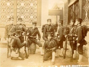 revolta boxerilor. soldatii japonezi