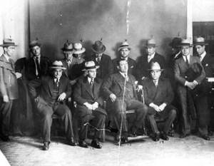 Intalnire mafiota in 1928