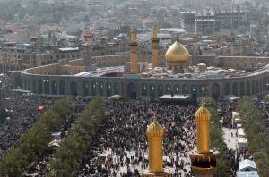 Mausoleul lui Husein din Kerbala, Irak