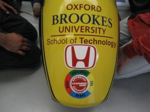 Oxford Brookes Formula Student Car