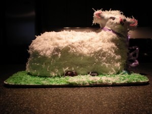 Lamb Cake, Lane's Bakery, Madison, WI