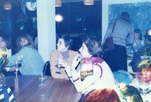 Linda & Megan @Lysistrata (far left)