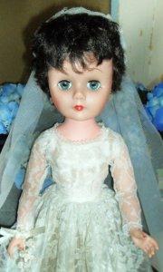 A 1950s Bride Doll