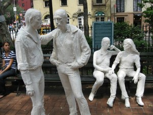 George Segal Sculpture