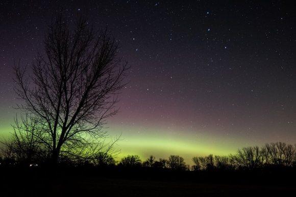 Northern Lights, Edgerton, Wisconsin, Photo Credit: Corry Feggestad