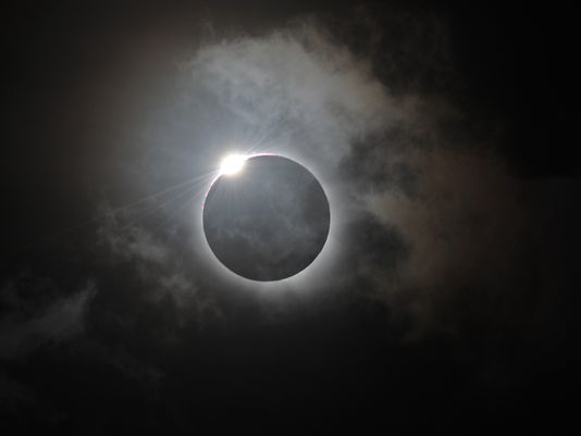 Solar Eclipse, Photo Credit: Greg Wood AFP/Getty Images