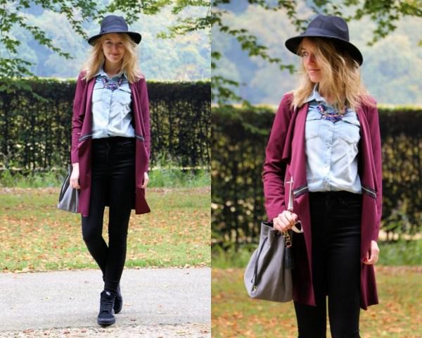 fashionmoodboard wearall burgundy jacket