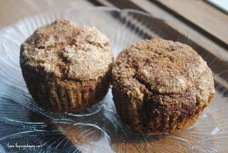 Cinnamon Swirl {almond milk} Muffins