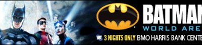 Batman Live is headed to Rockford, Illinois!