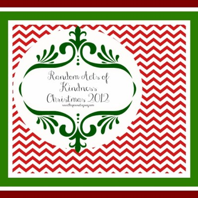 Random Acts of Kindness – Christmas 2012
