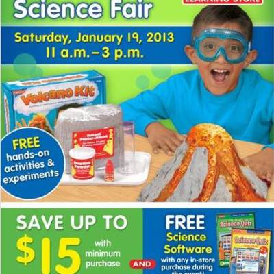 Lakeshore Learning's Science Fair :: Free Family Fun!