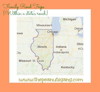 Family Road Trips {Within a State's Reach}