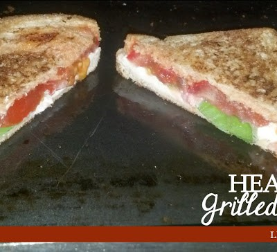 Healthy Grilled Cheese courtesy of Sarah || Linley House