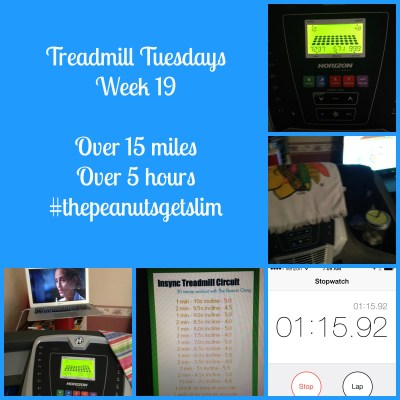 Feel the Burn {Treadmill Tuesdays – Week 19}