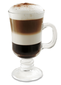 Layered Café Mocha Latte