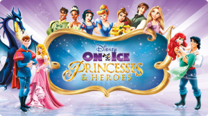 Disney on Ice Presents Princesses and Heroes {September 10-14 at the United Center} #Giveaway