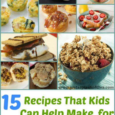 15 Kid Friendly Recipes for Father's Day from A Splash of Diva
