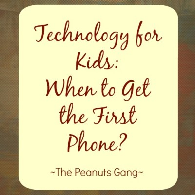 Technology for Kids: When to Get the First Phone?