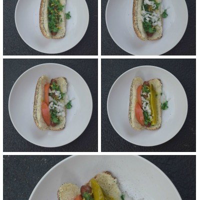 The Art of a Chicago Hot Dog
