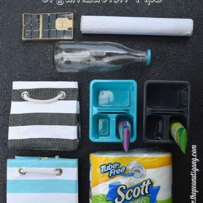 Mini Makeover for Your Linen Closet {+ Bonus Kids' Caddies}