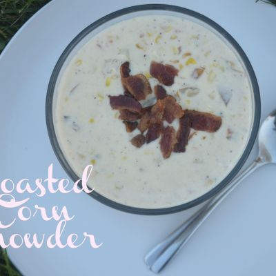 Roasted Corn Chowder with Swanson Broth