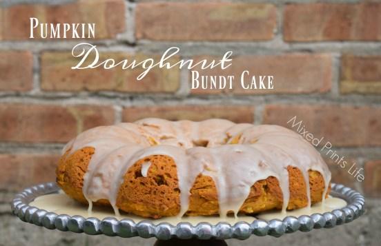 Doughnut Bundt Cake