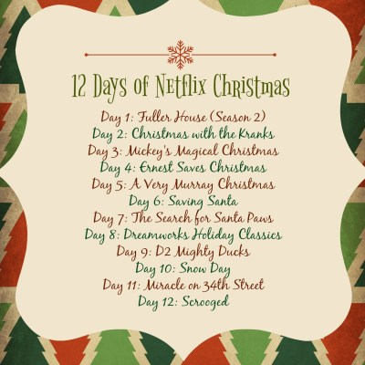 12 Days of Netflix {Christmas}
