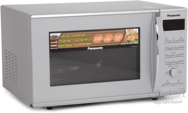 panasonic nn cd681m 27 l convection microwave oven silver