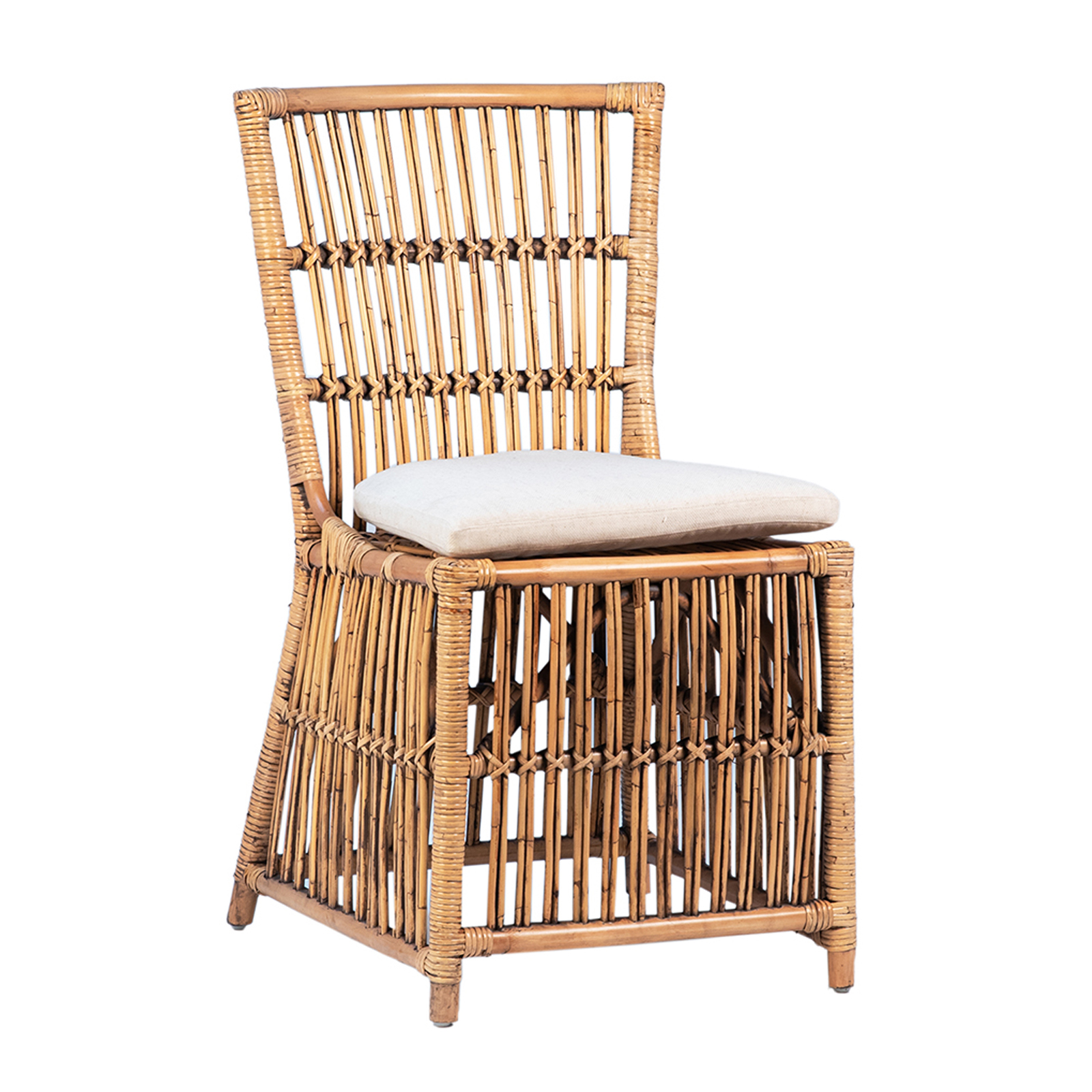 Bamboo Rattan Dining Chair Furniture Design Mix Gallery