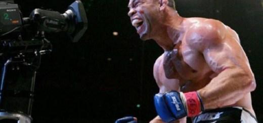 Newly released fighter WanderLei Silva