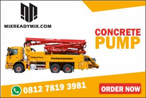 harga sewa concrete pump pompa beton