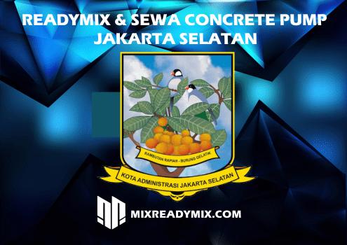 SEWA CONCRETE PUMP JAKARTA SELATAN