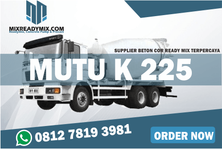 Beton cor Ready Mix mutu K225