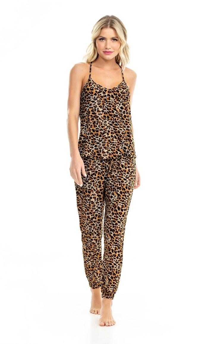 Pijama Regata de Alça com Calça