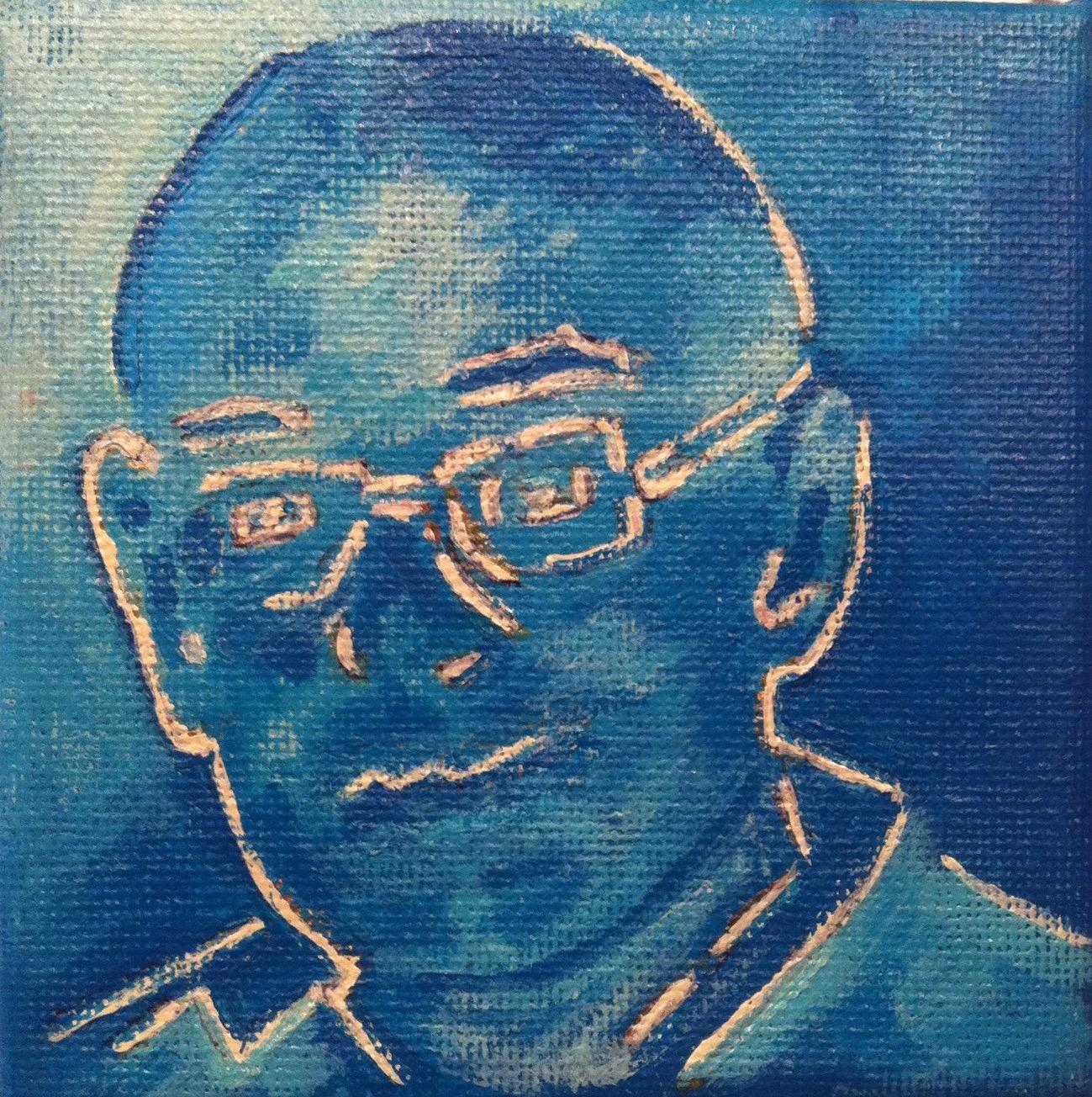 Portret - In opdracht Acryl op doek (10 x 10)