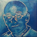 Portret - In opdracht - Acryl op doek (10 x 10)
