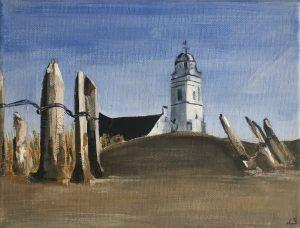 Katwijk - in opdracht / Acryl op canvas 18 x 24