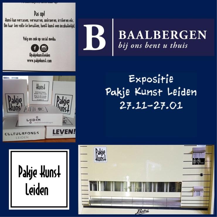 Expositie van Pakje Kunst Leiden bij Baalbergen