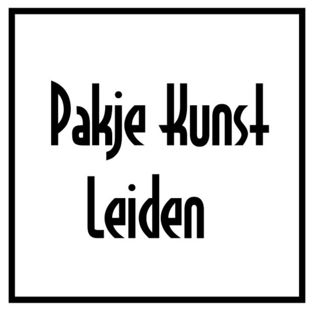 Pakje Kunst leiden logo
