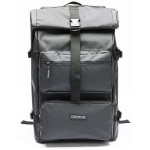 Magma Rolltop Backpack Closed Front